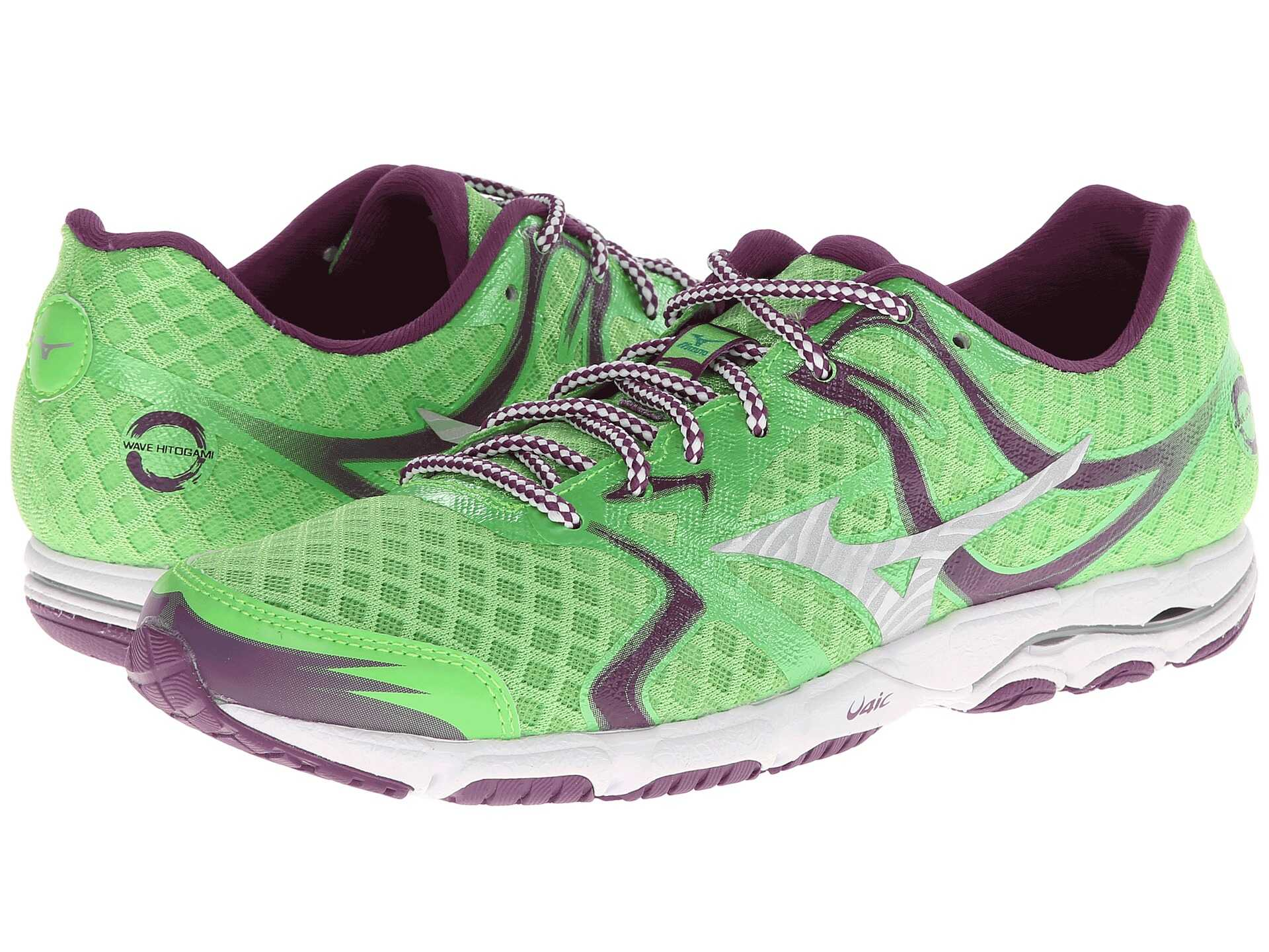 Mizuno Wave Hitogami Green Flash/caribbean Sea