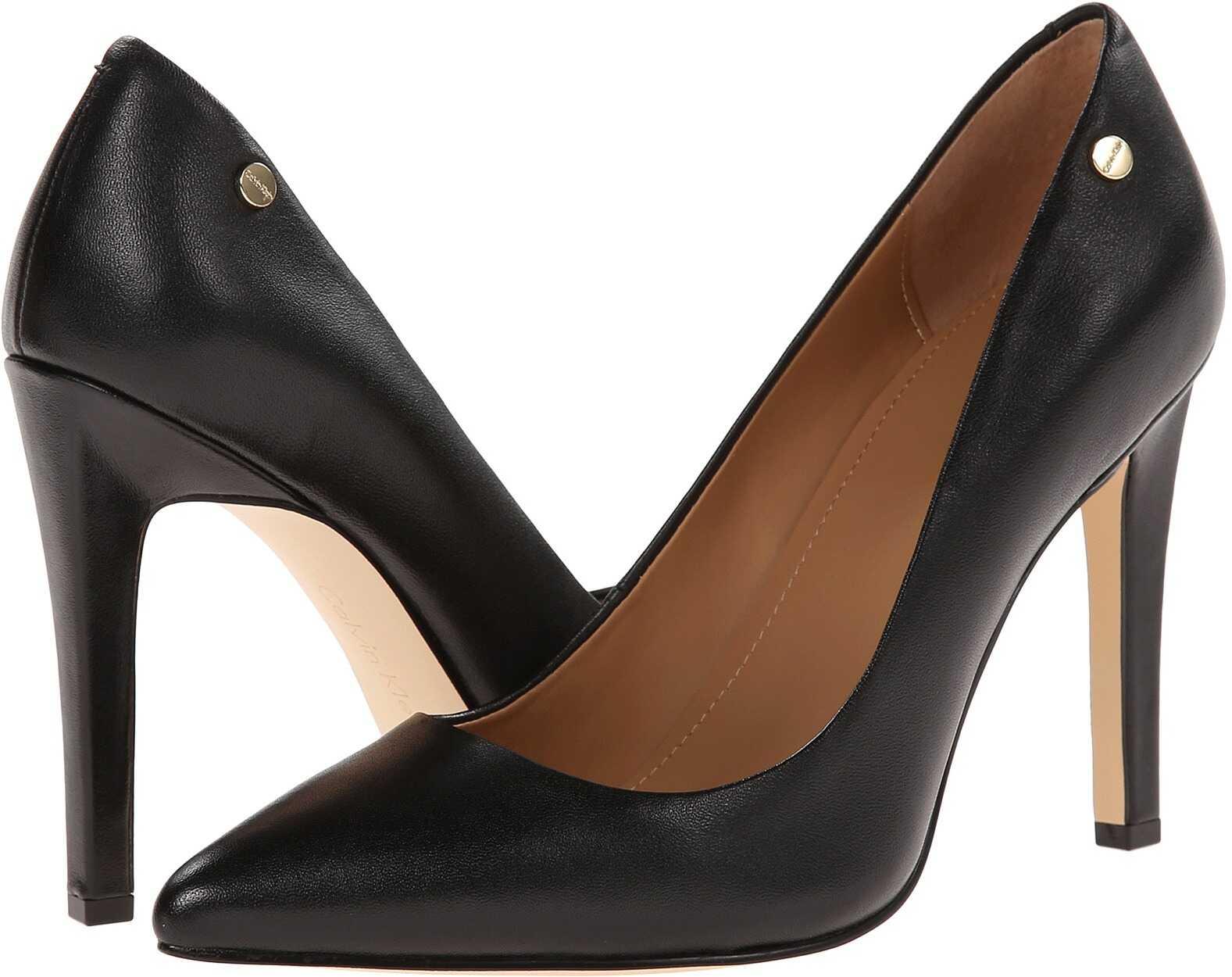 Calvin Klein Brady Black Leather