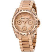 Ceasuri Fashion Blair Multi-Function Rose Gold-tone Ladies Watch MK5613 Femei