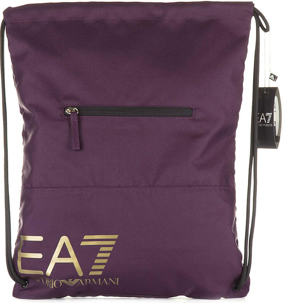 EA7 Backpack Train Core Purple