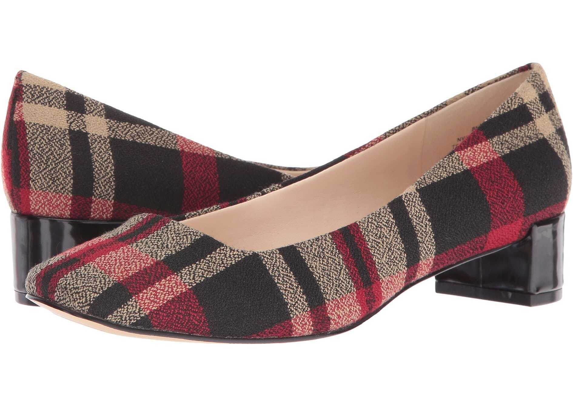 Pantofi Cu Toc Nine West Olencia Black Multi Fabri
