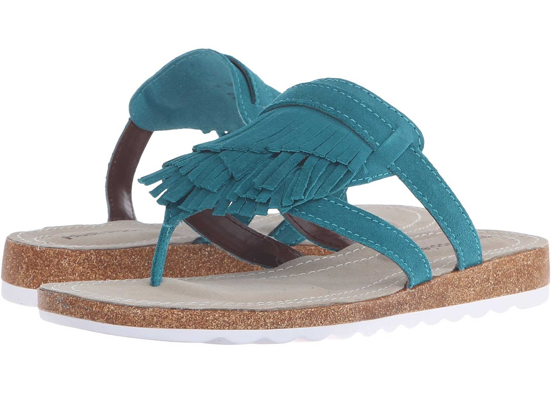 Hush Puppies Bryson Jade Turquoise Suede