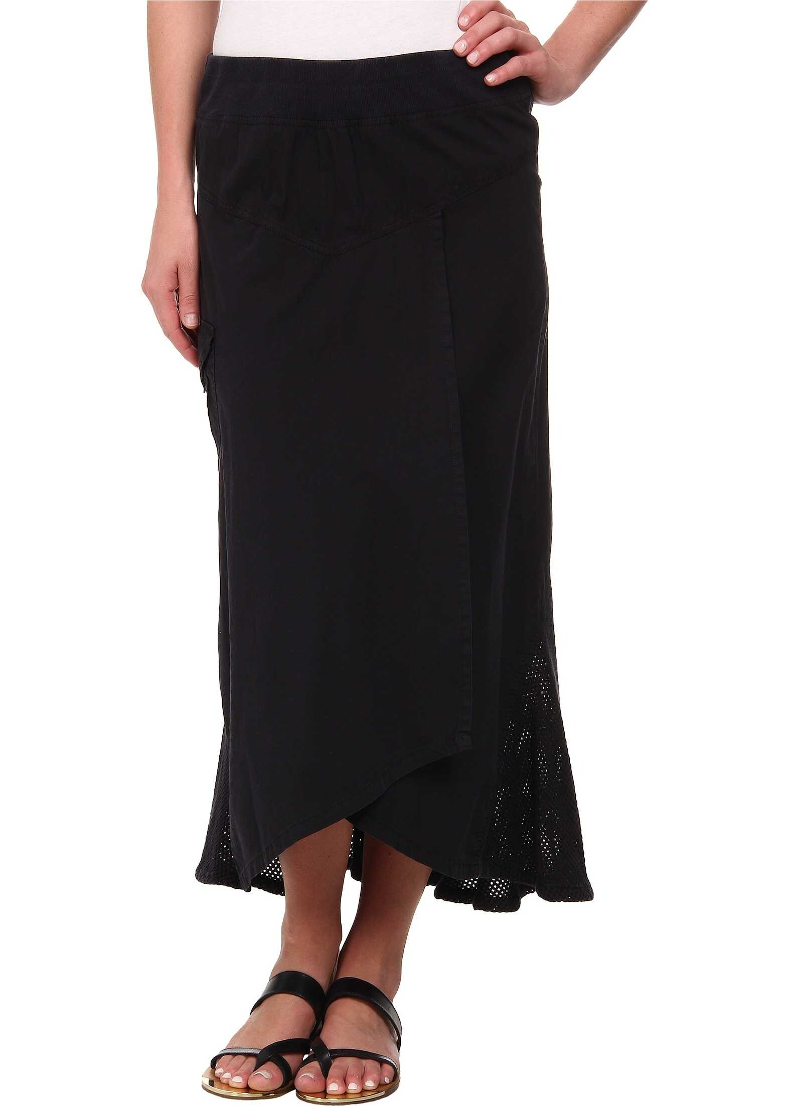 XCVI Kestrel High-Low Skirt* Black