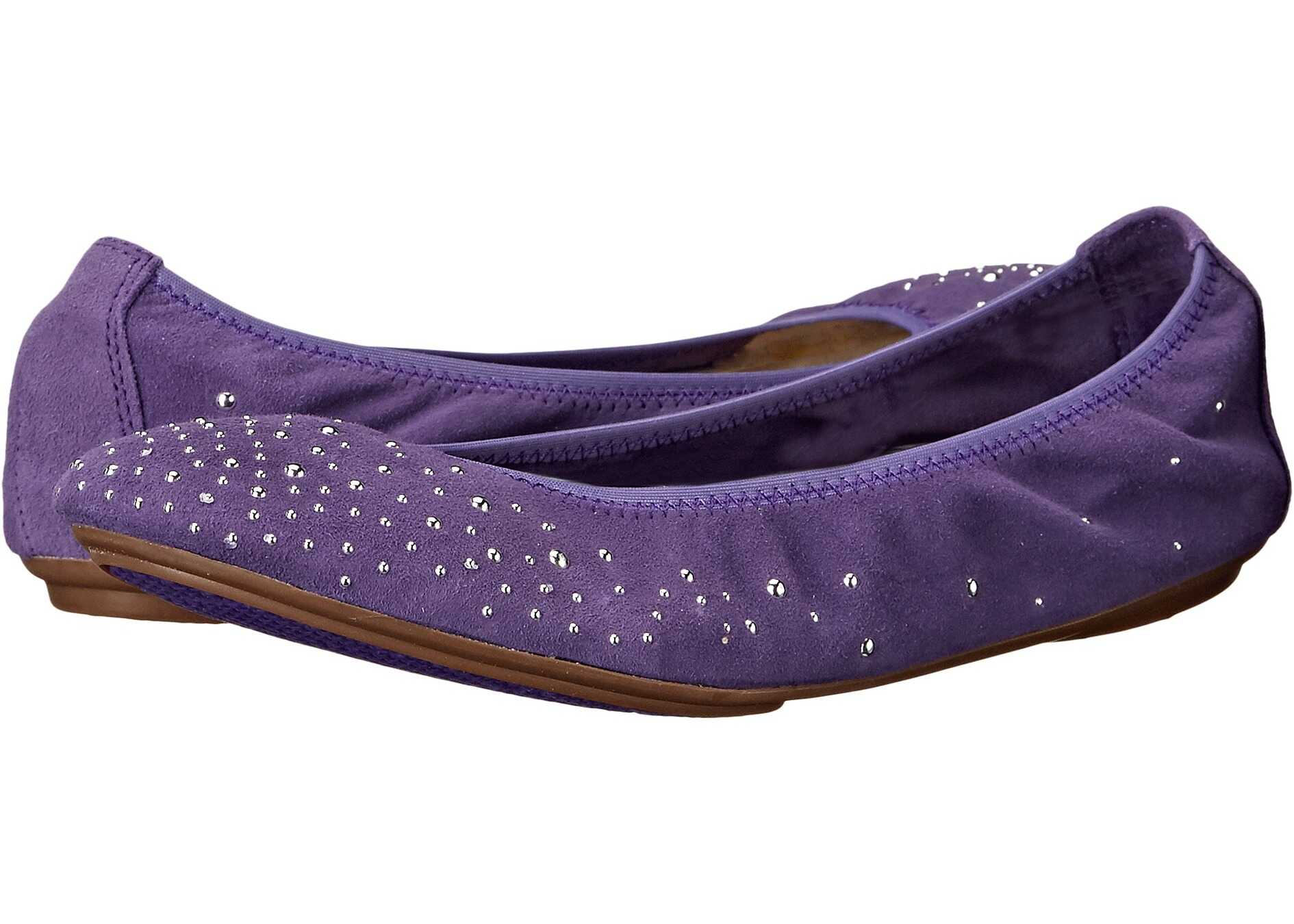 Hush Puppies Lolly Chaste Purple Suede