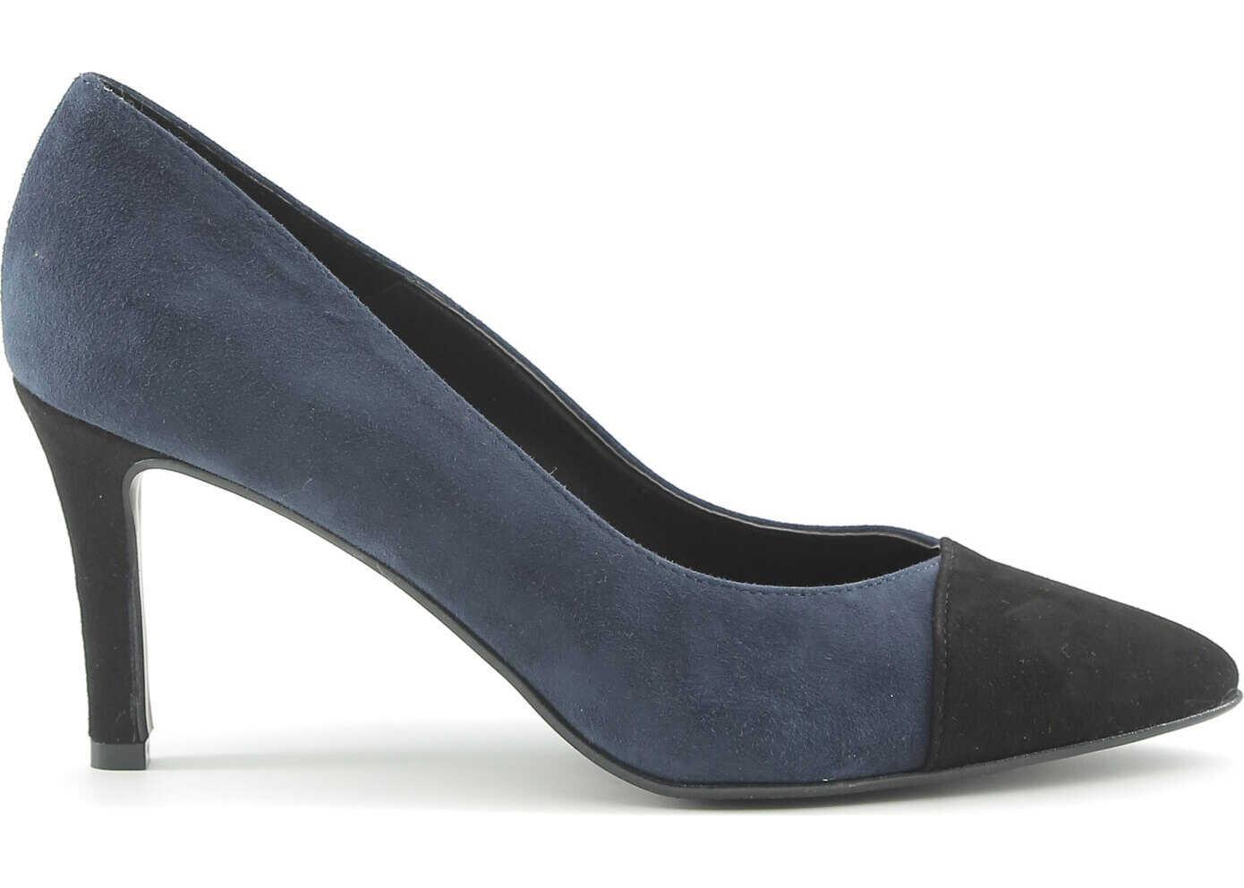 Pantofi Cu Toc Made In Italia Flavia Blue