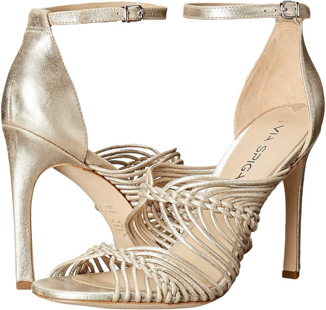Sandale Femei Via Spiga Dorian Platinum