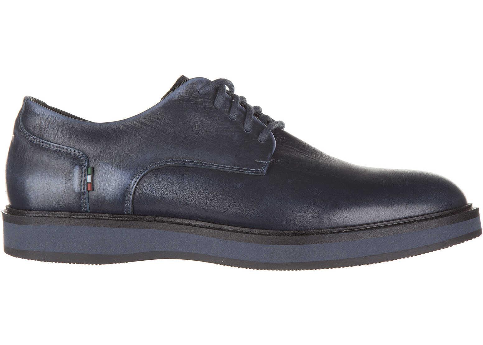 Pantofi Barbati Armani Jeans Derby Vintage Blue