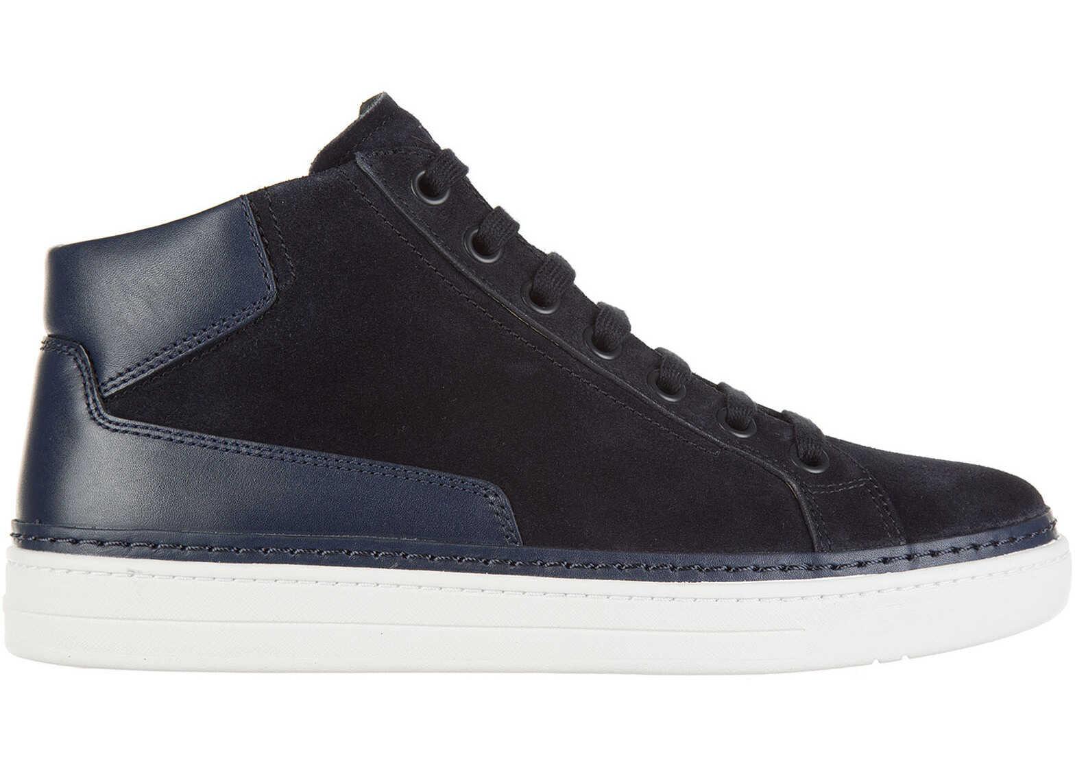 Prada Trainers Sneakers Blue