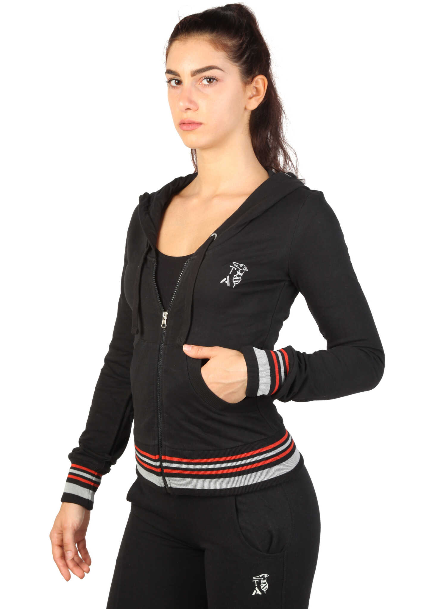 Bluza Sport Femei Trussardi 2bf16 Black