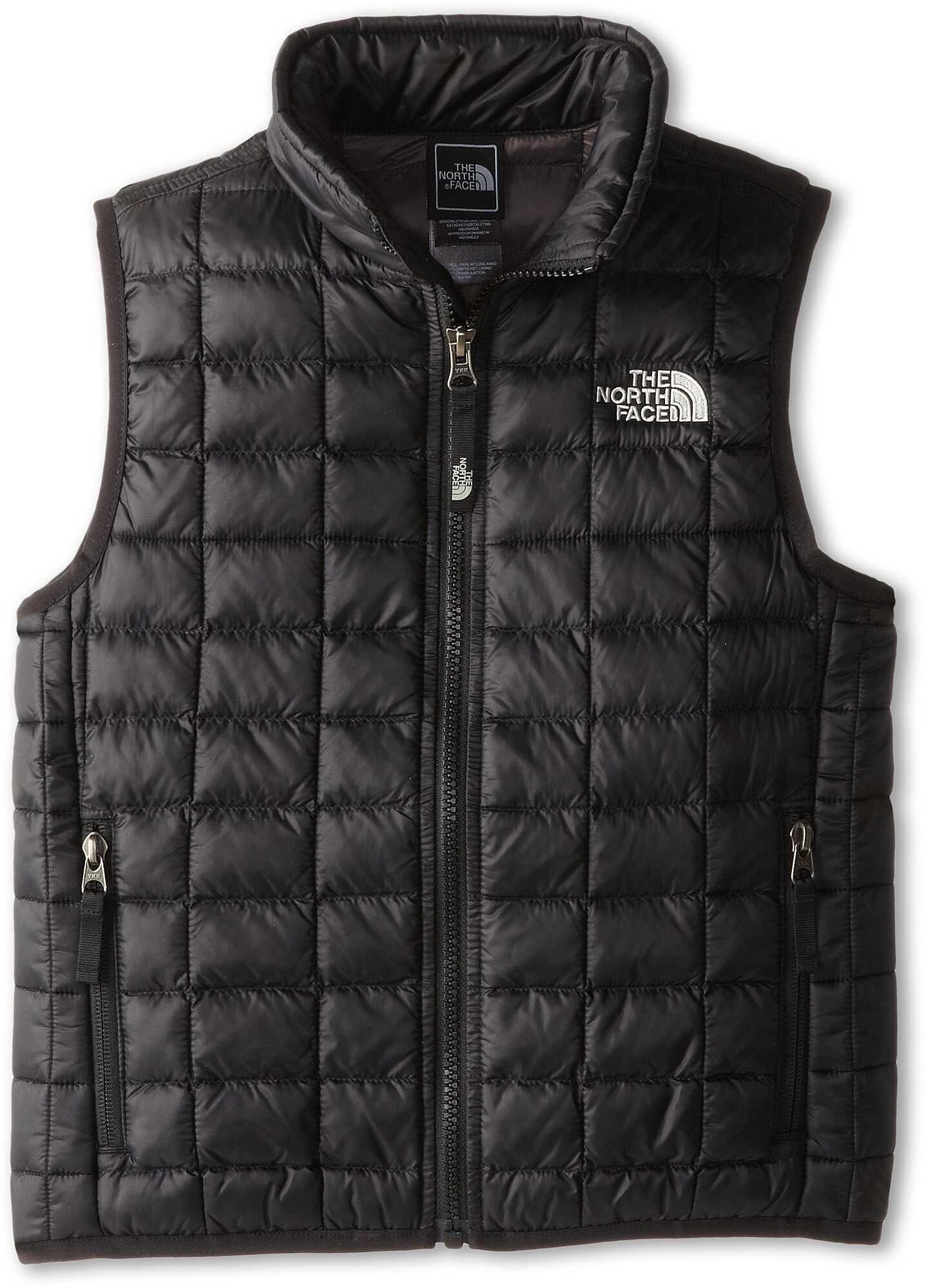 The North Face Kids Thermoball Vest (little Kids/big Kids)* Tnf Black
