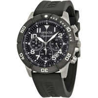 Ceasuri Fashion Signature II Chronograph Black Rubber Mens Watch 7348 Barbati