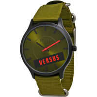Ceasuri Fashion Green Canvas Ladies Watch S06080014 Barbati