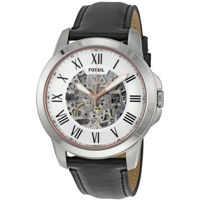 Ceasuri Fashion Grant Silver Skeleton Dial Automatic Mens Watch ME3101 Barbati
