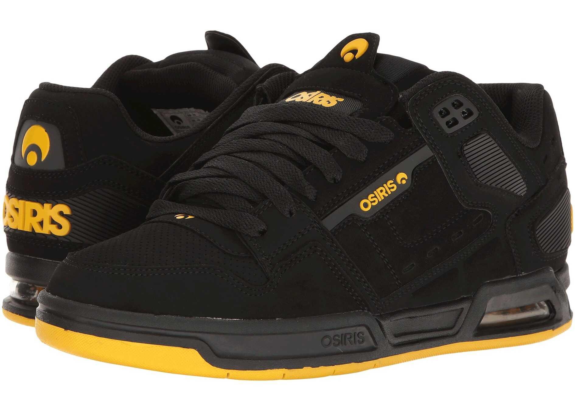 Pantofi Sport Barbati Osiris Peril Black/yellow/bl
