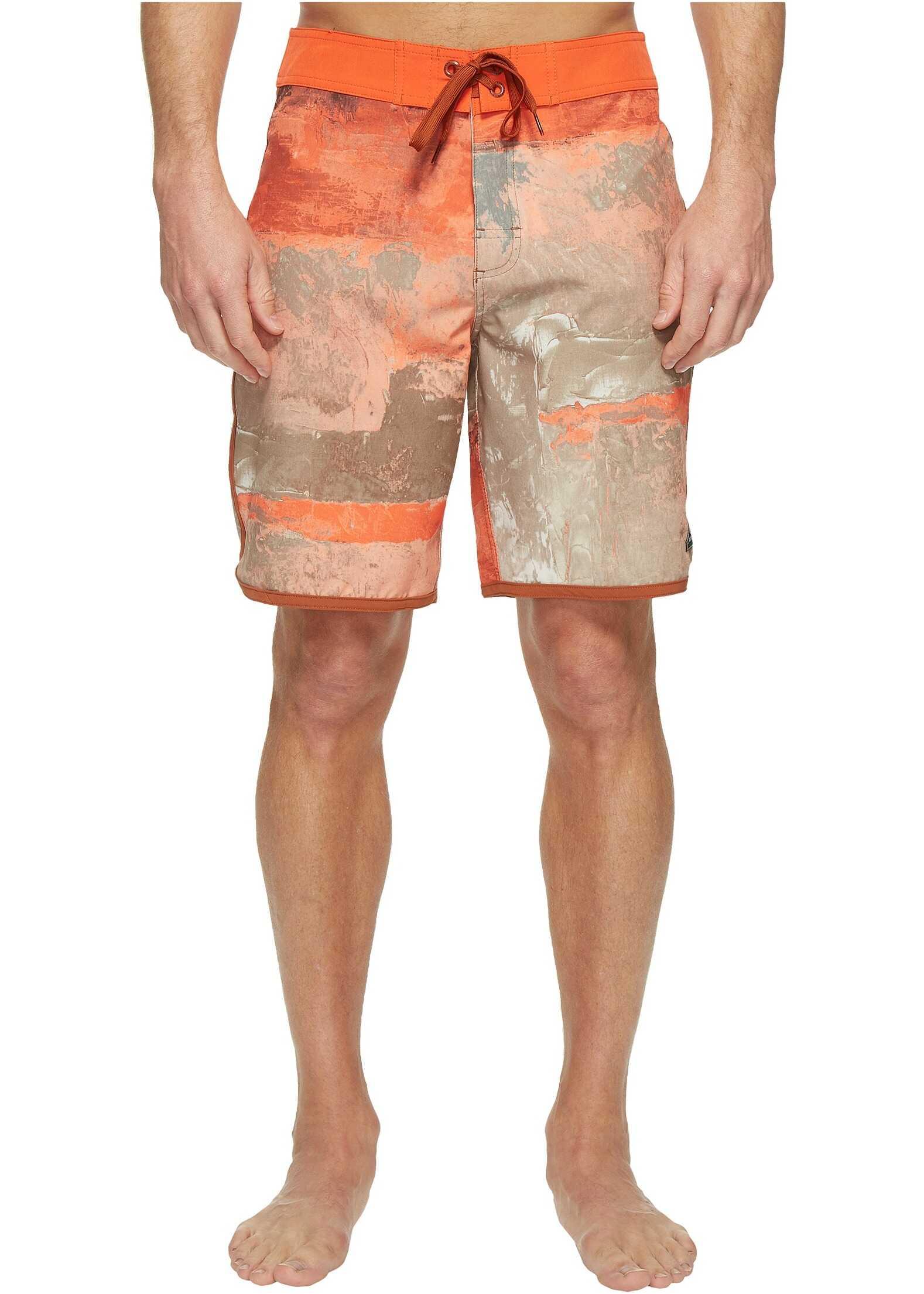 Prana High Seas Shorts Dark Khaki Elliot