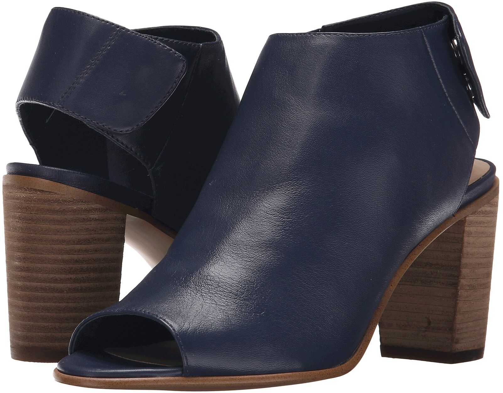 Steve Madden Nonstp Heel Blue Leather