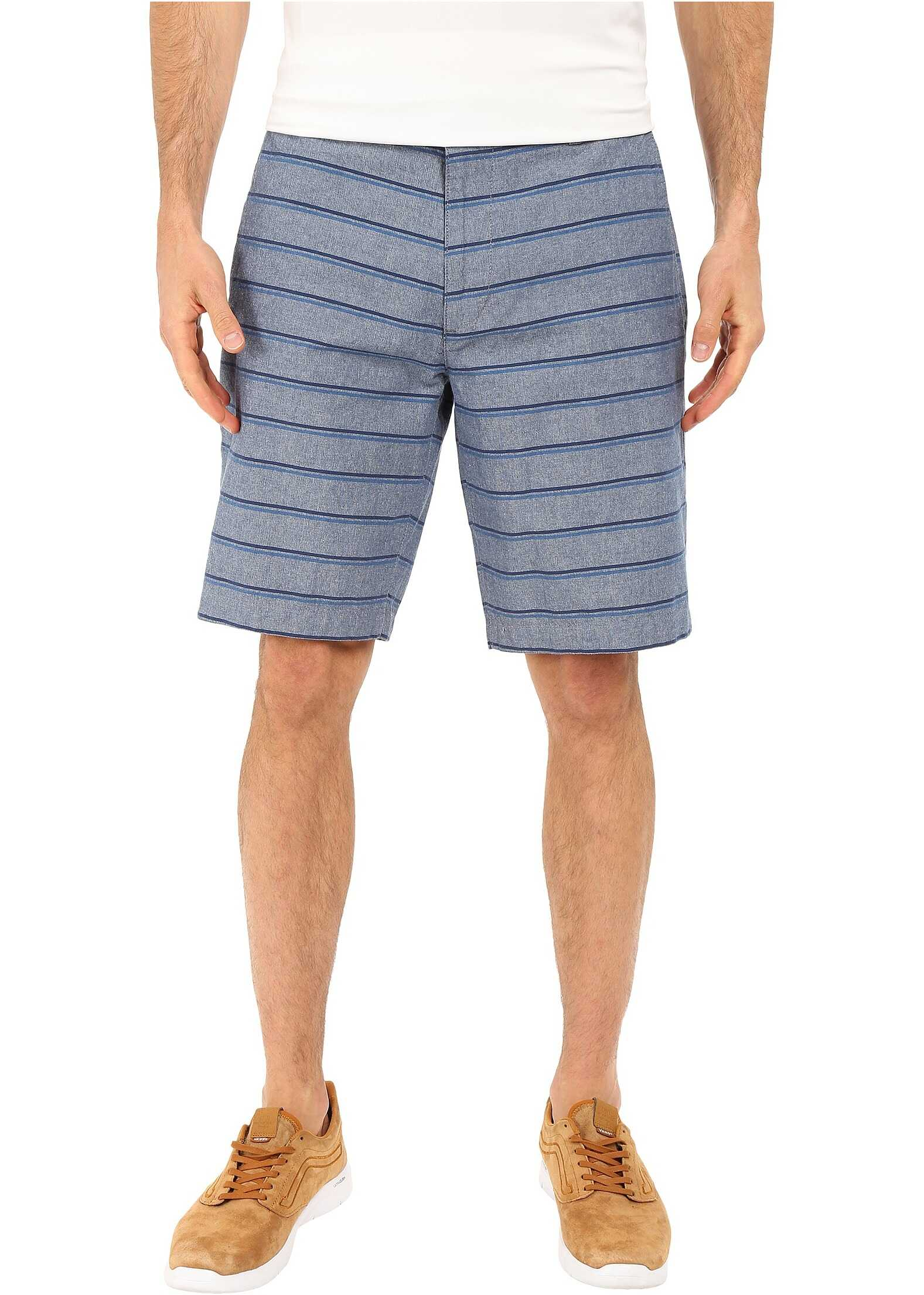 Dockers Perfect Short Classic Fit Flat Front Colton A Blue-Ensign Blue