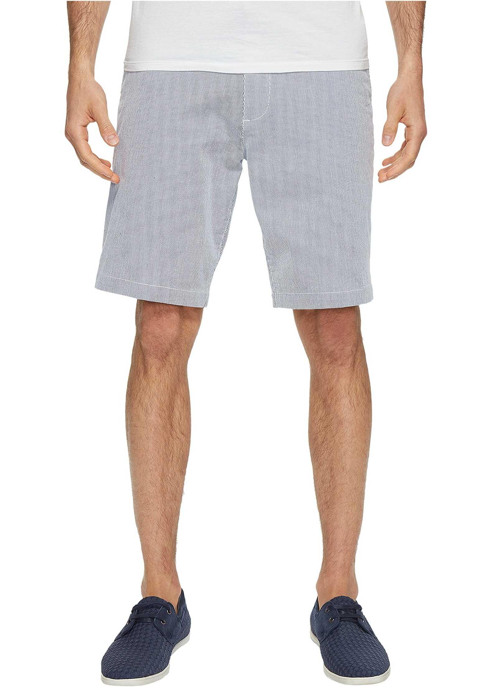Dockers Perfect Short Classic Fit Flat Front Oliver Moonlit Ocean Stretch