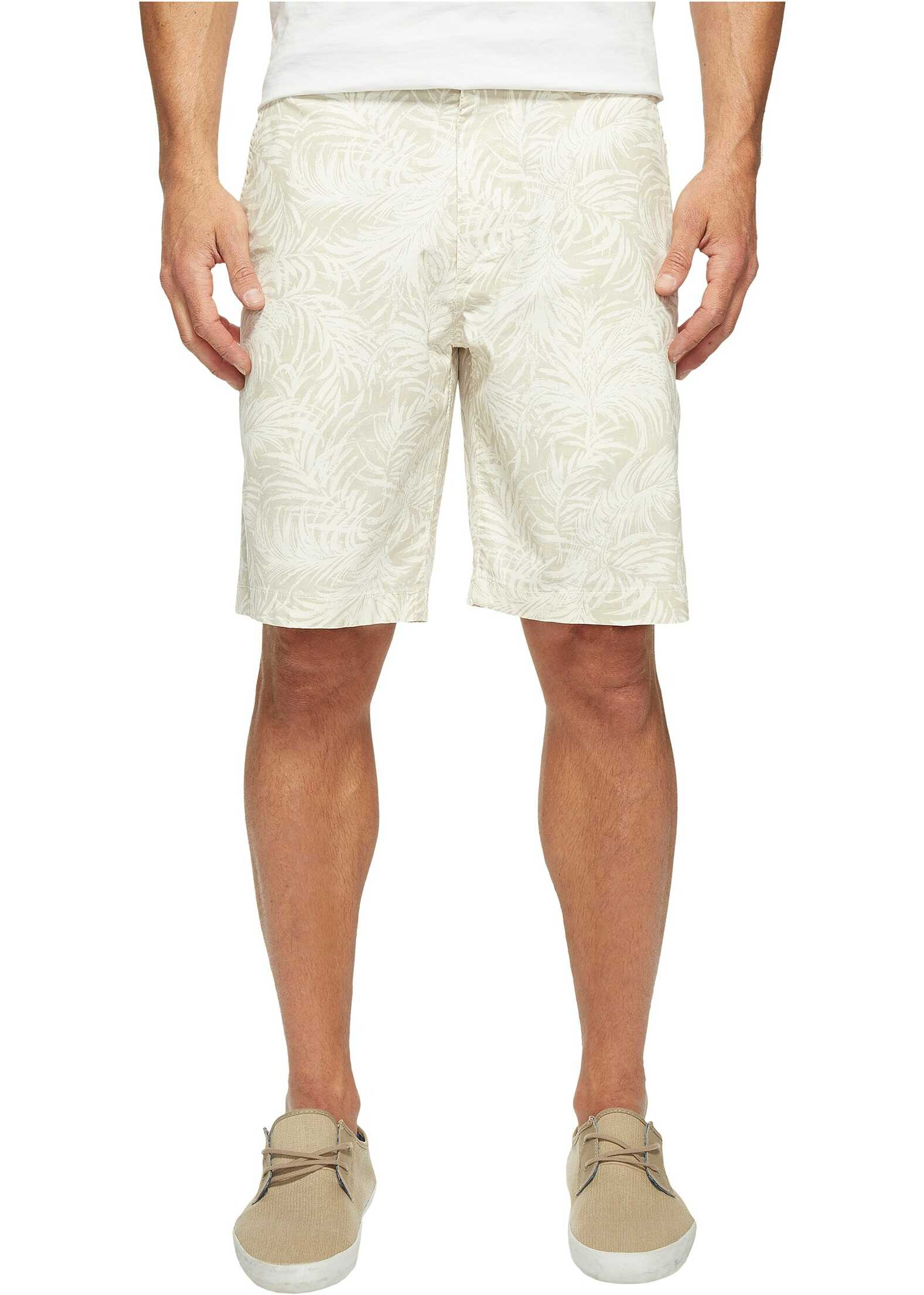 Dockers Perfect Short Classic Fit Flat Front Bishop Marble Stretch