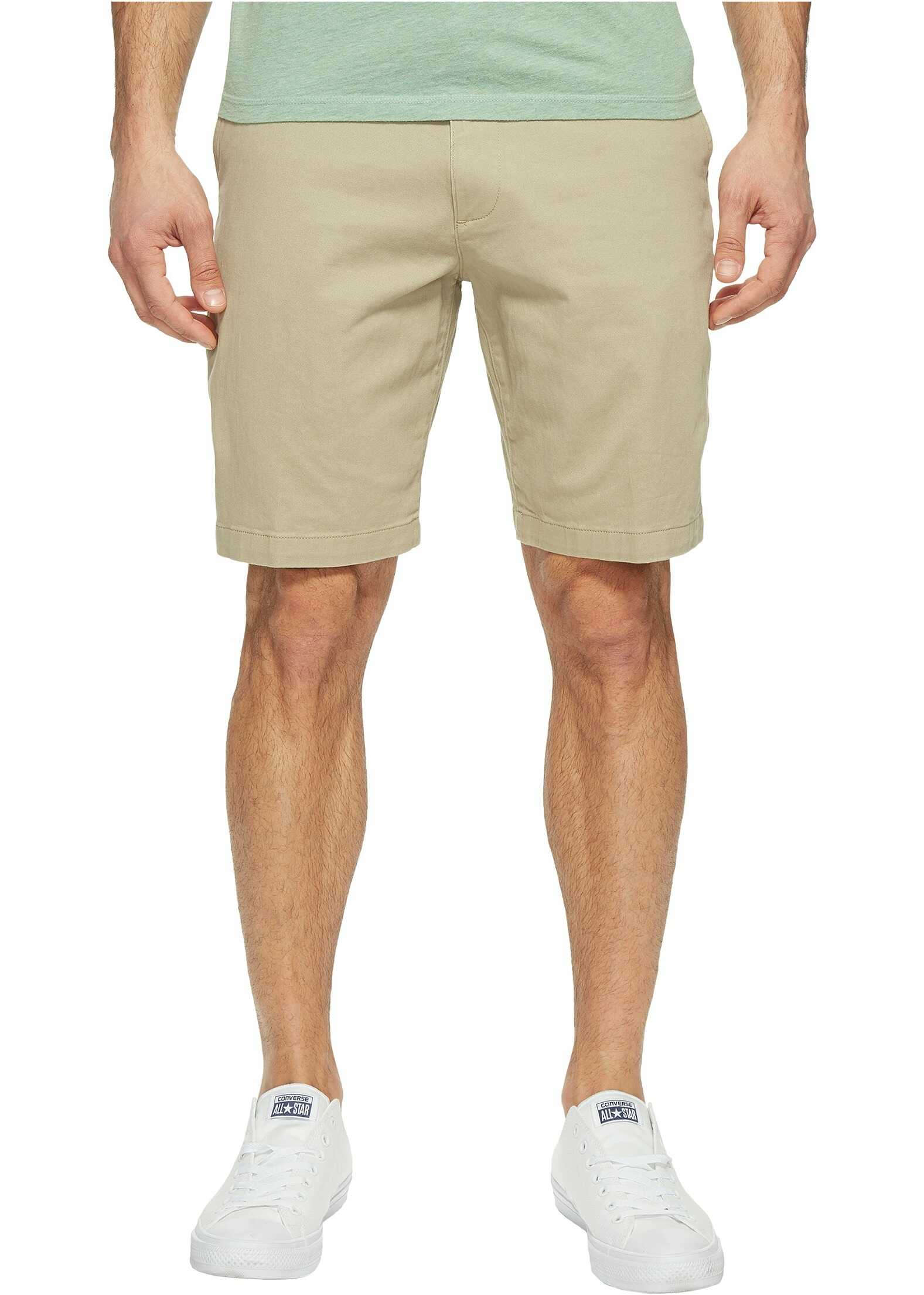 Dockers Perfect Short Classic Fit Flat Front Sand Dune Stretch