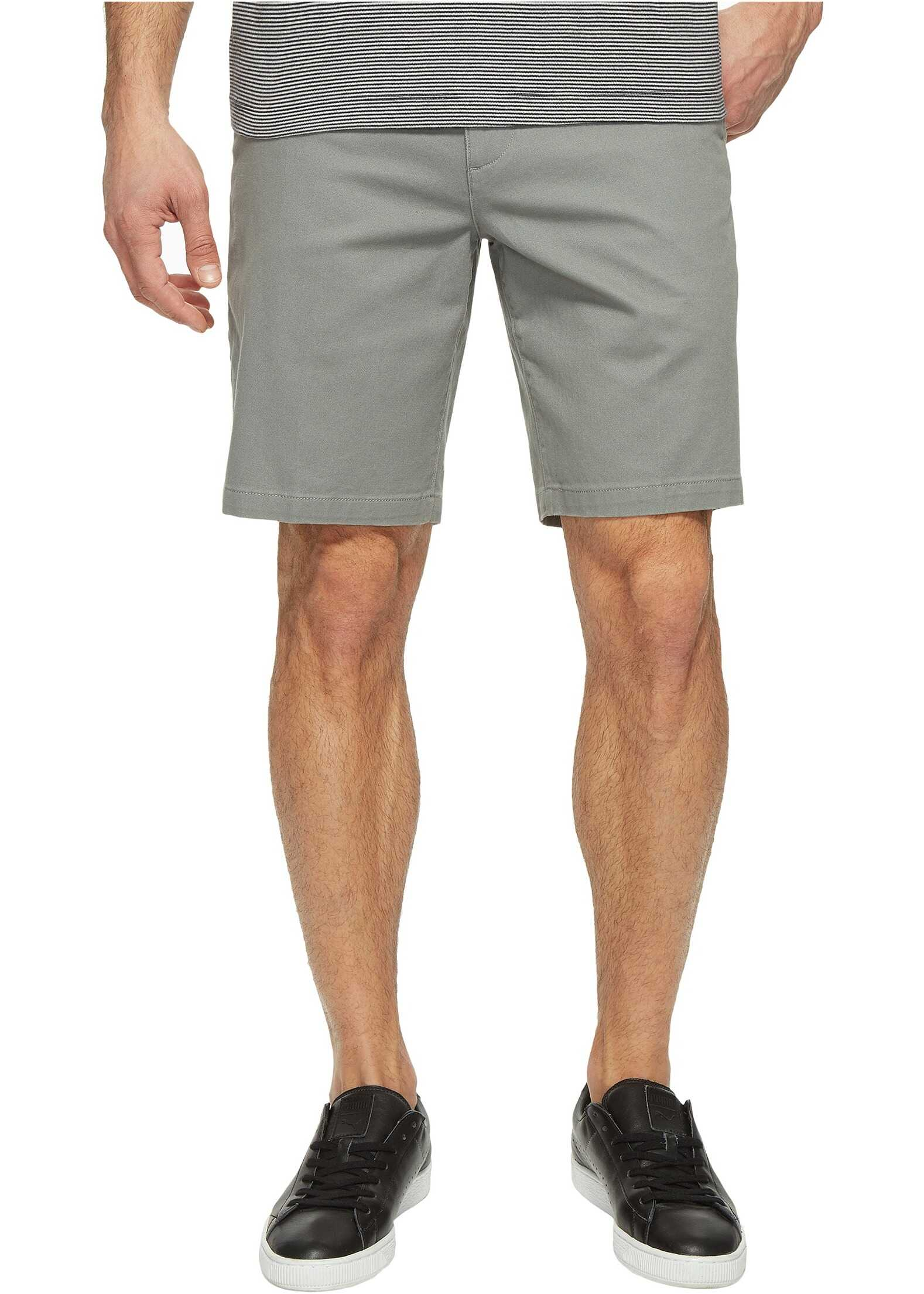 Dockers Perfect Short Classic Fit Flat Front Sea Cliff Stretch