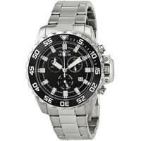Ceasuri Fashion Pro Diver Chronograph Black Dial Stainless Steel Mens Watch 13624 Barbati