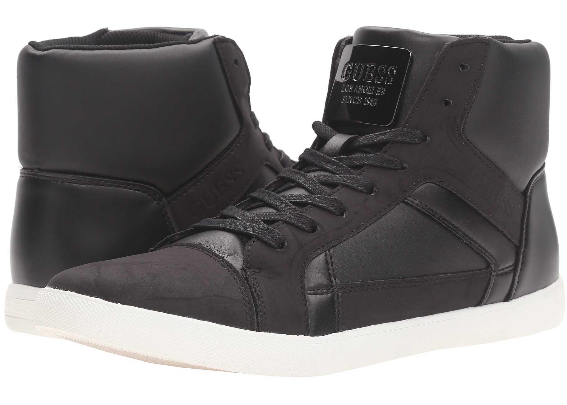 Pantofi Sport Barbati Guess Jaxom Black