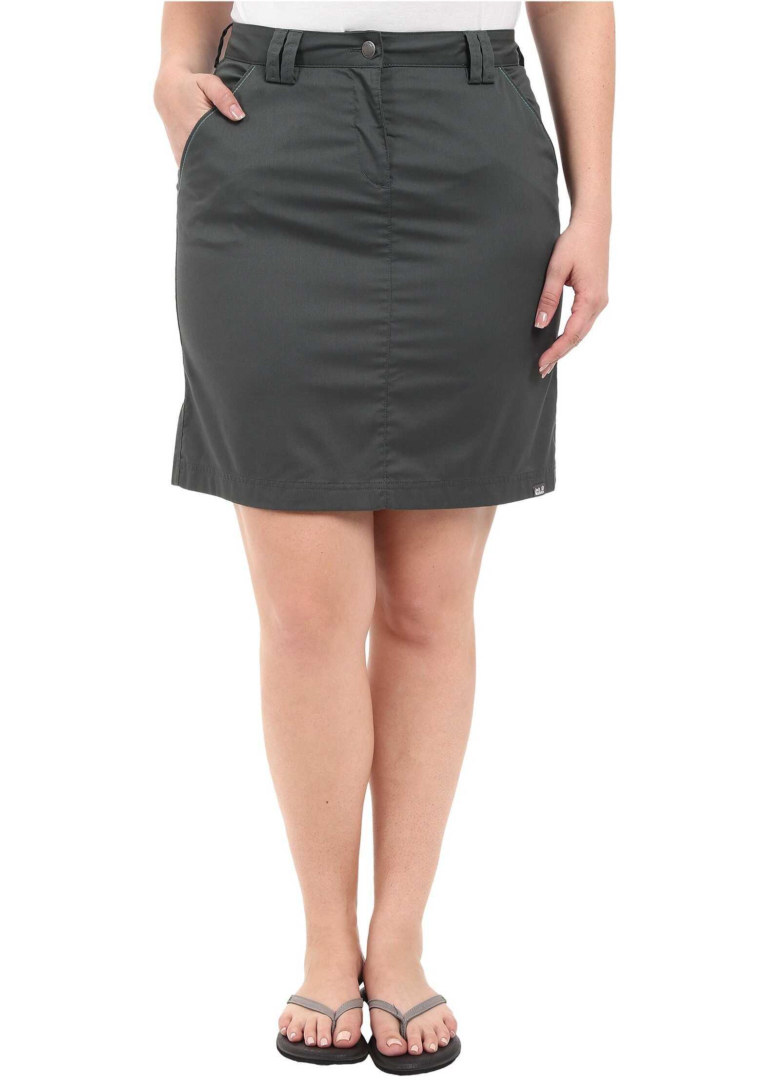 Fusta Femei Jack Wolfskin Liberty Skirt Greenish G
