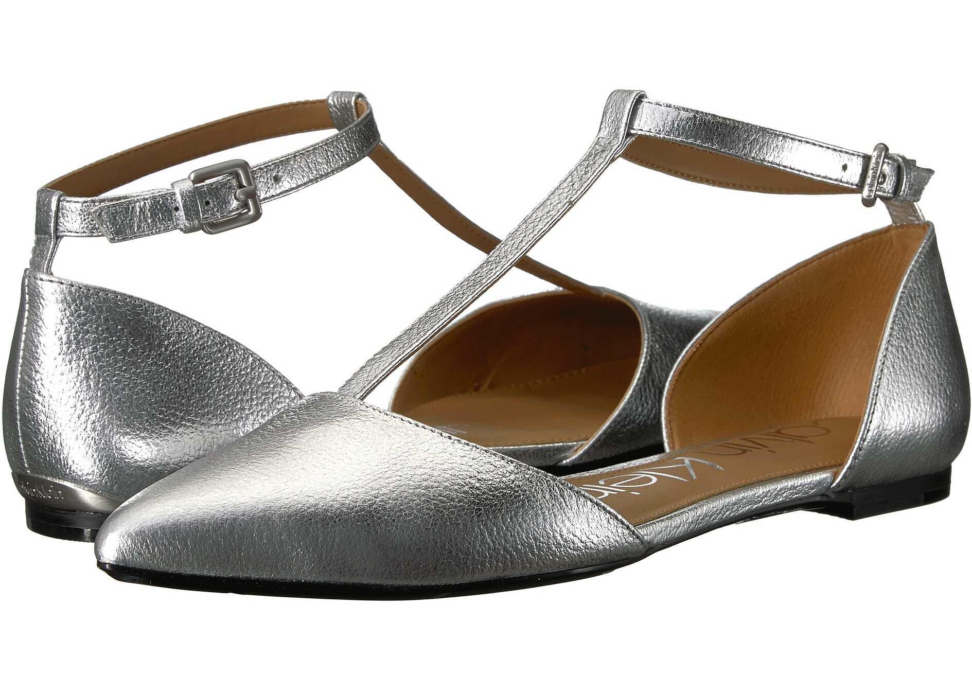 Calvin Klein Ghita Flat Silver 1