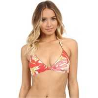Costume de Baie Crete Flower Bikini Top with Removable Soft Cups Femei