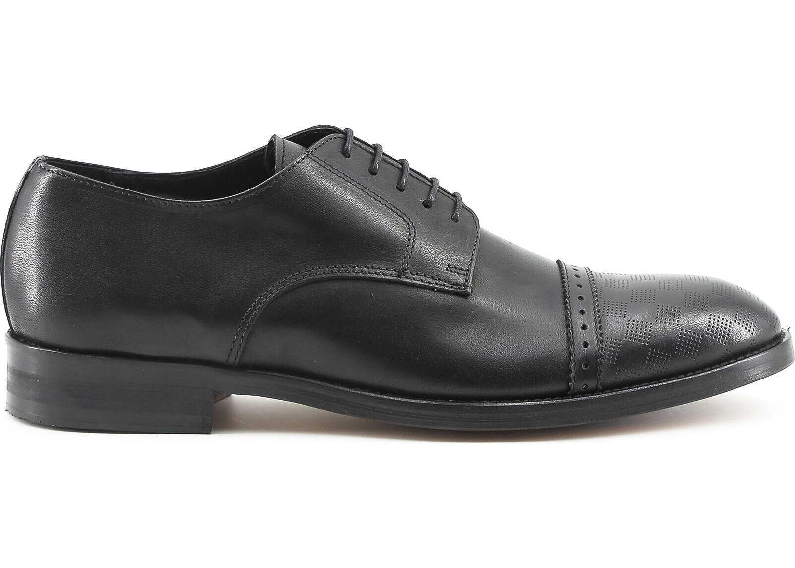 Pantofi Barbati Made In Italia Riccardo Black
