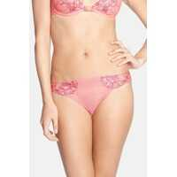 Chiloti Dahlia Embroidered Thong* Femei