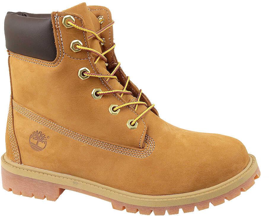 Timberland 6 In Premium WP Boot Jr Yellow