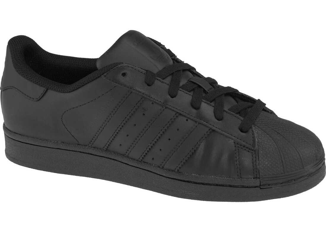 adidas Superstar J Foundation Black