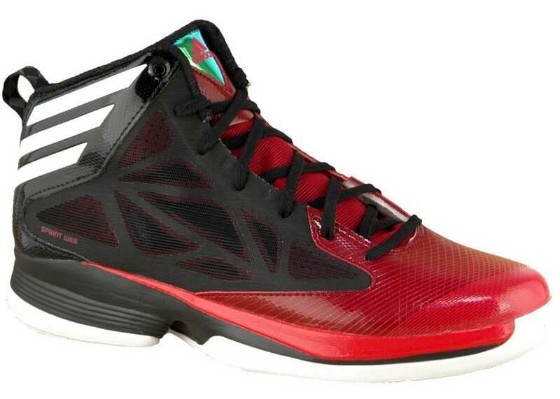 adidas Crazy Fast Black,Red