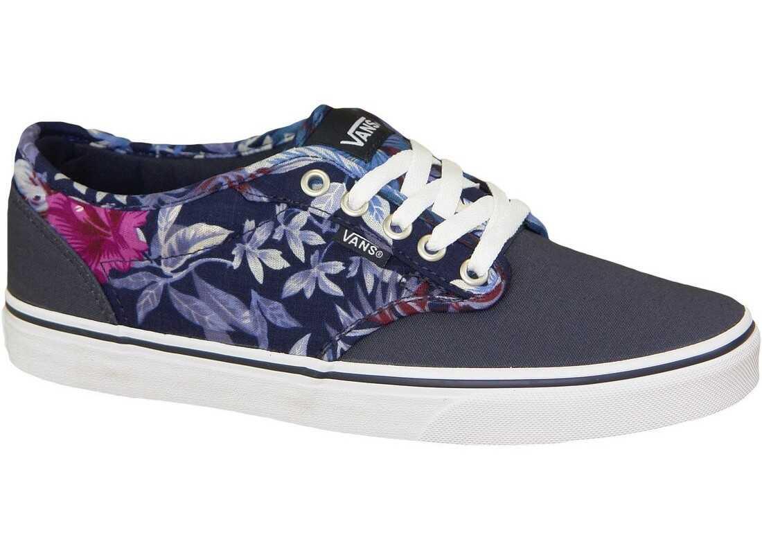 Pantofi Sport Femei Vans Atwood Canvas Floral Blue
