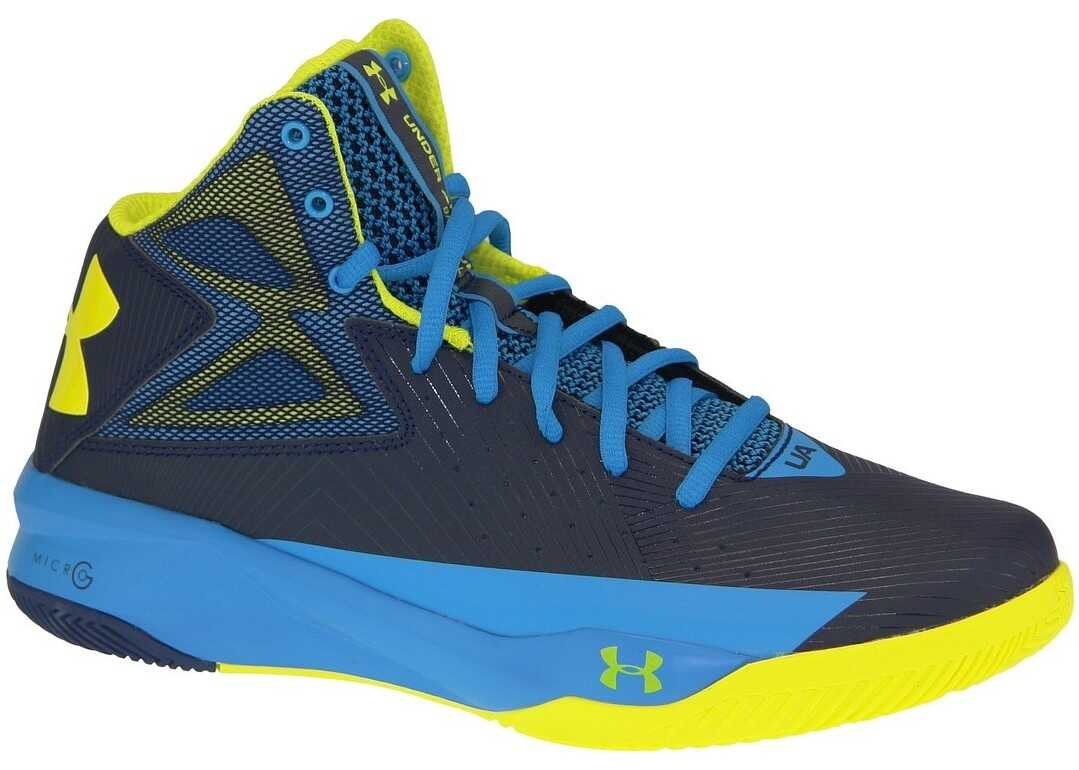 Under Armour Rocket Basketball Blue,Yellow