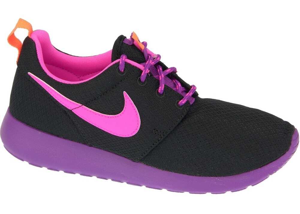 Nike Rosherun Gs Black,Violet