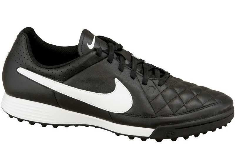 Nike Tiempo Genio Leather TF Black,White