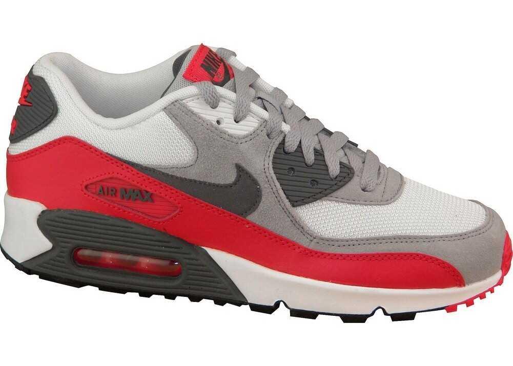 Nike Air Max 90 Gs Grey,Red,White