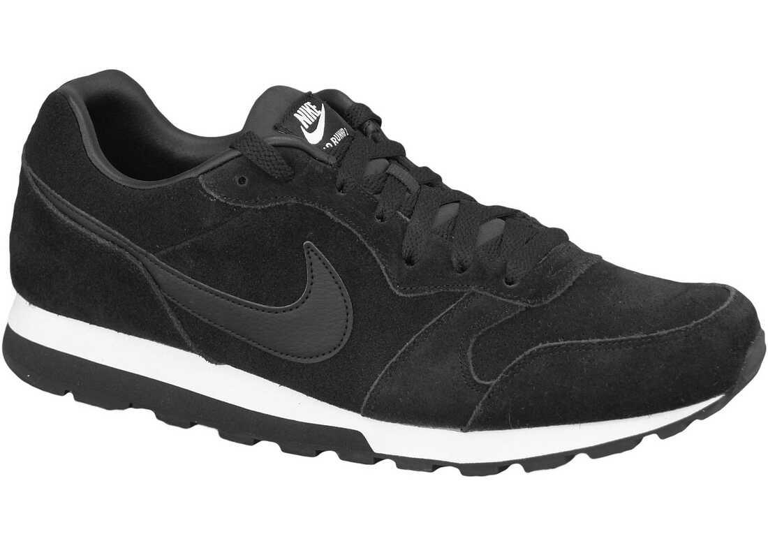 Nike MD Runner II Lth Black