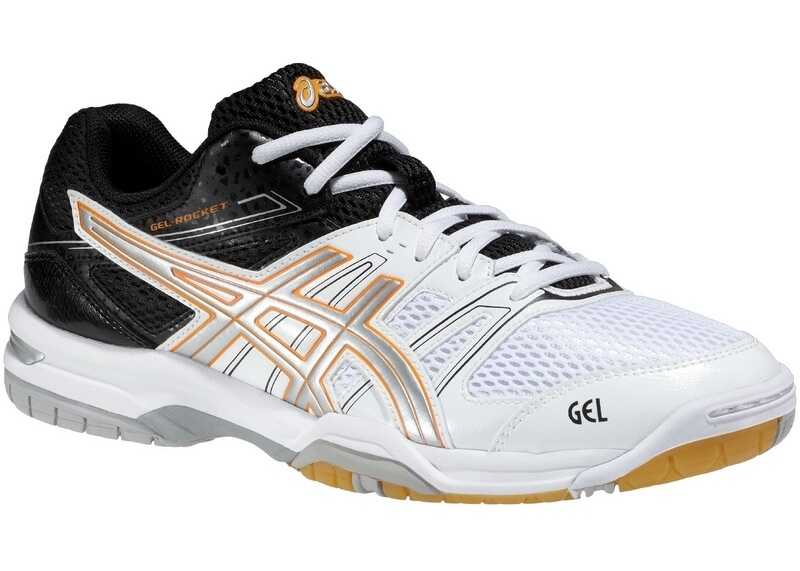 ASICS Gel Rocket 7 Black,White