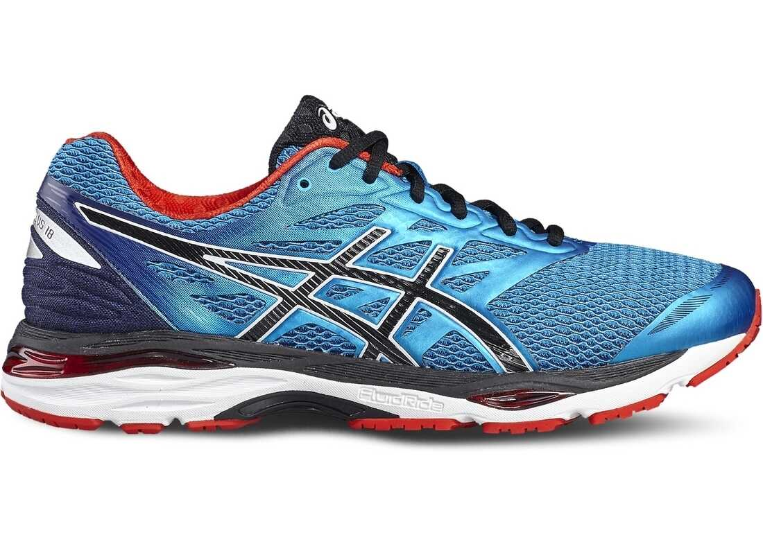 ASICS Gel-Cumulus 18 Black,Blue