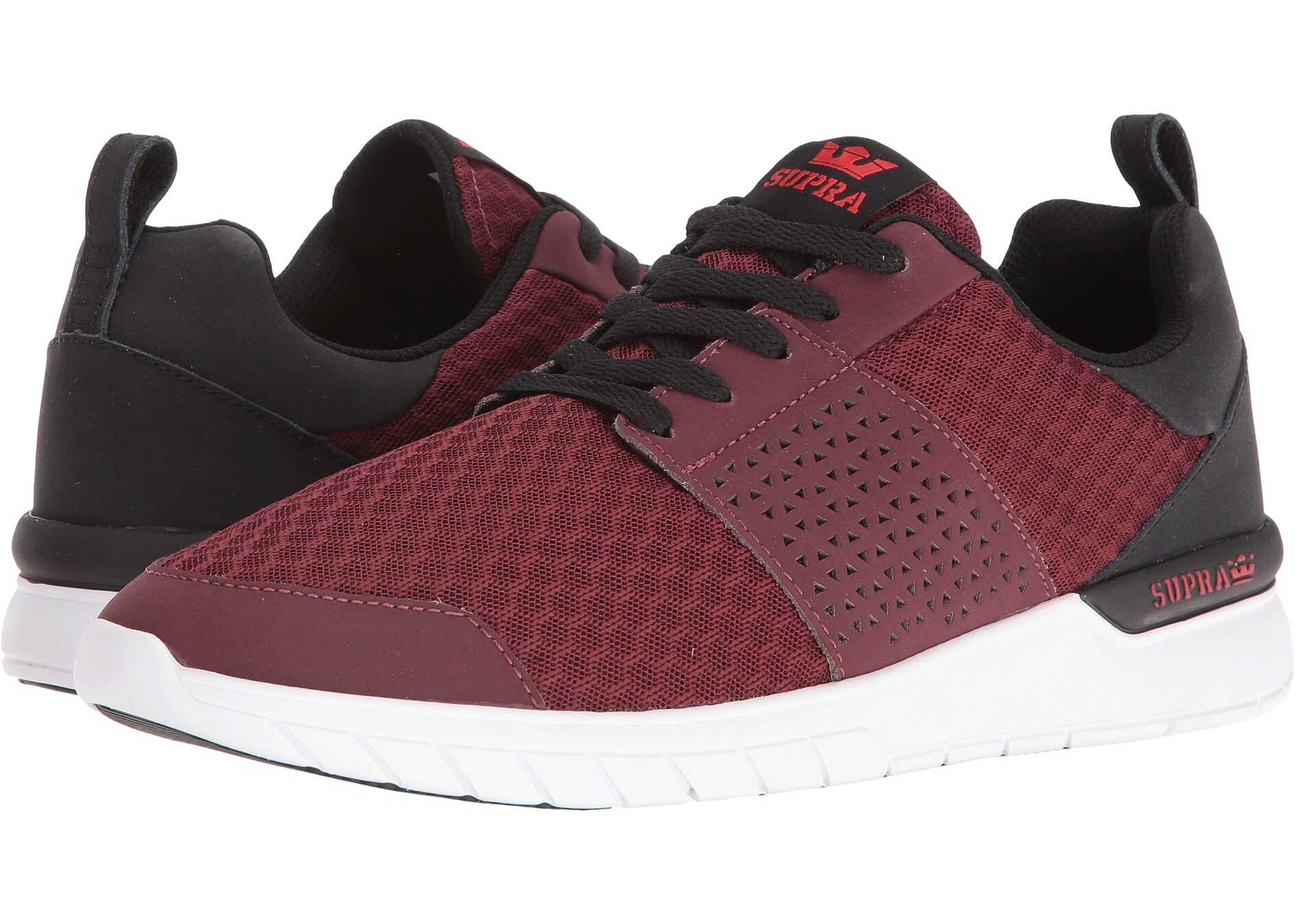 Supra Scissor Burgundy/Black/White
