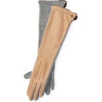 Manusi Wool-Blend Long Tech Gloves Femei