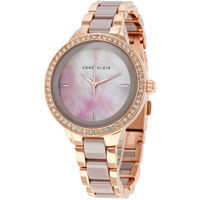 Ceasuri Fashion Taupe Mother of Pearl Dial Ladies Watch 1418RGTP* Femei