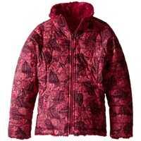 Geci Reversible Mossbud Swirl Jacket (Little Kids/Big Kids) Fete