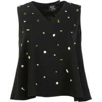 Tricouri Alexander McQueen Sleeveless Studded