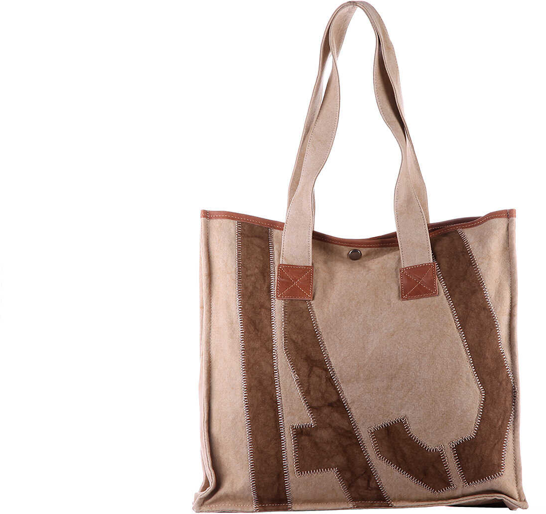 Armani Jeans Bag Handbag Beige