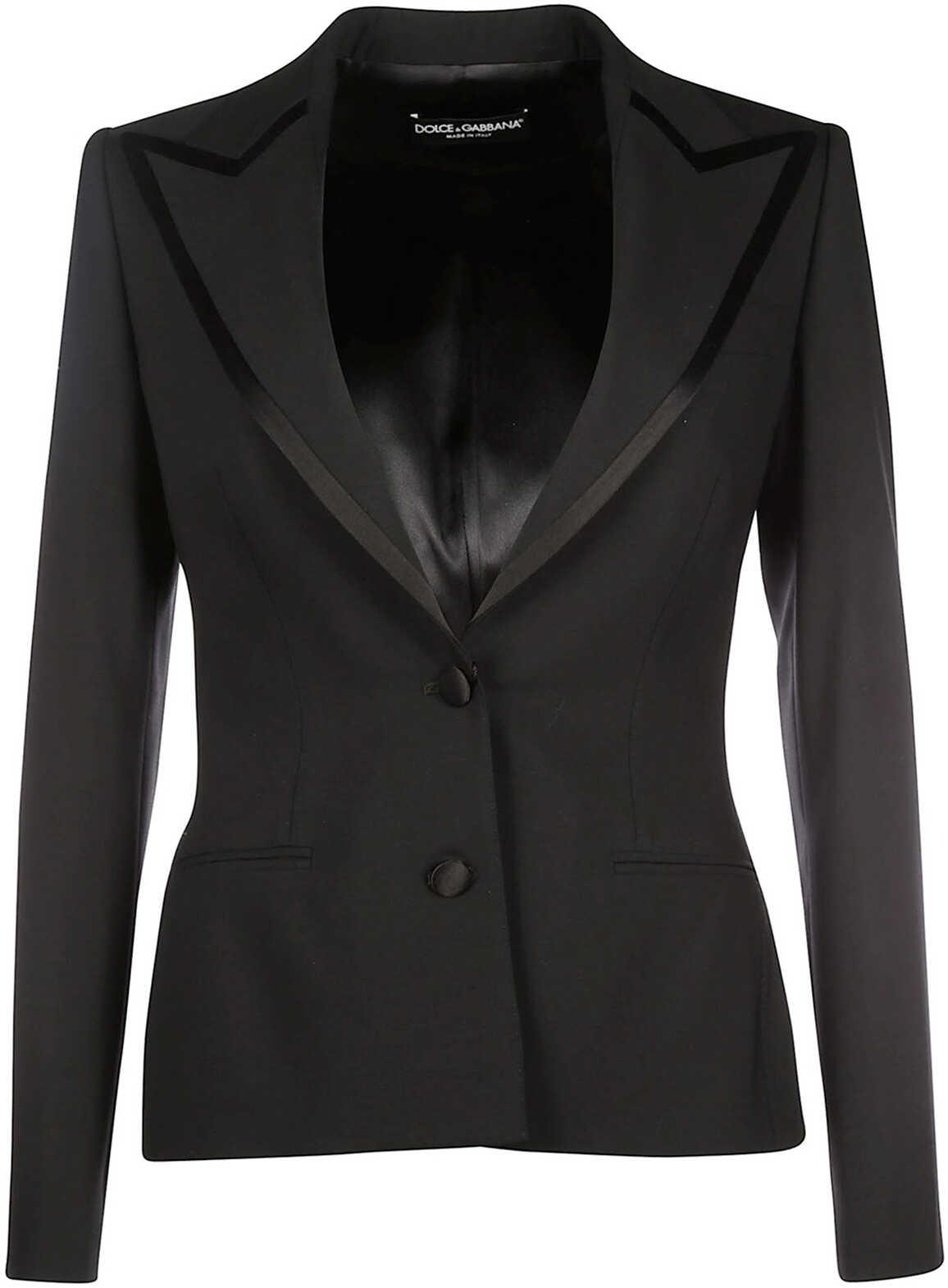 Dolce & Gabbana Jacket Blazer Black